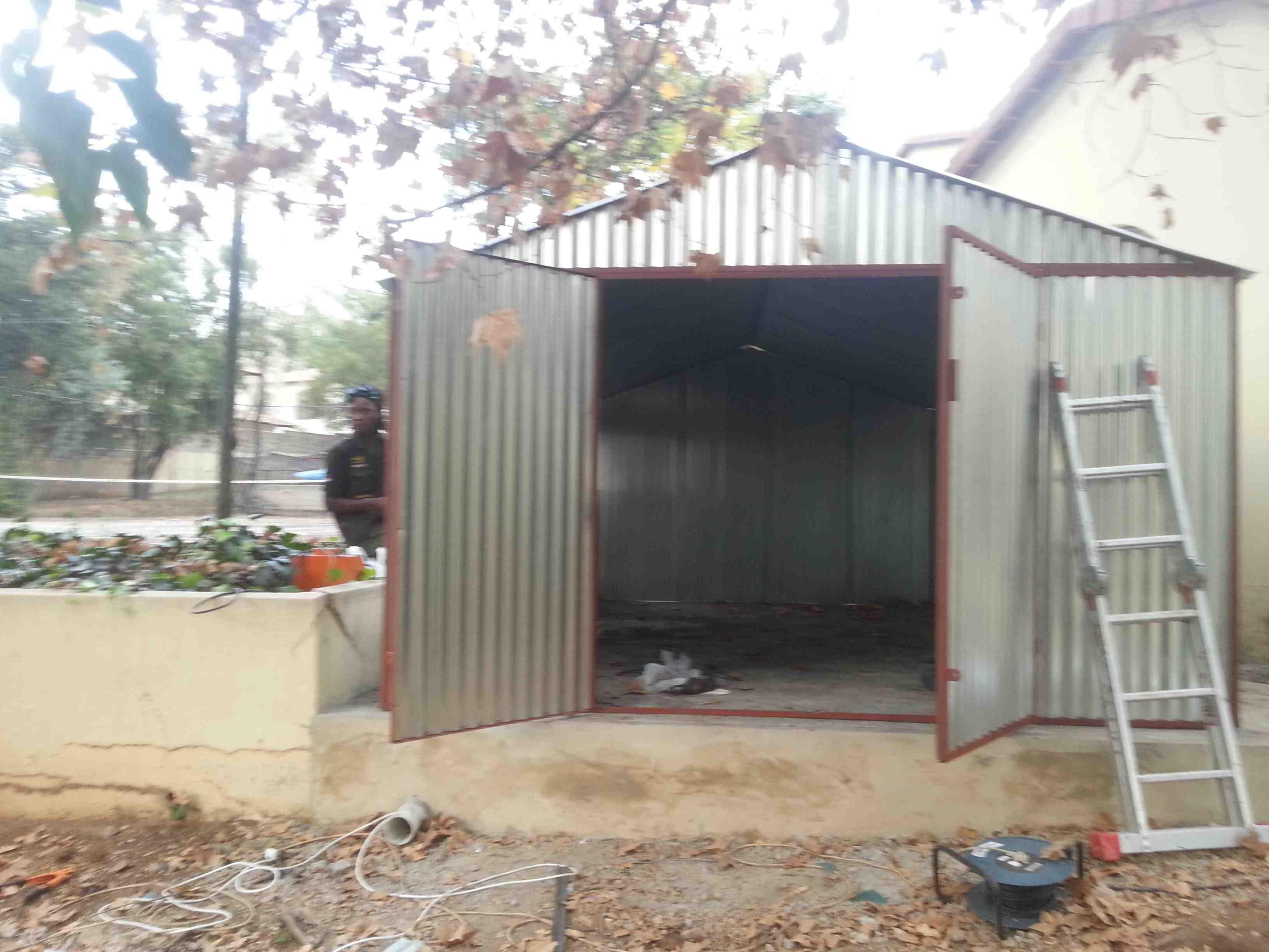 Steel Zozo Huts Pretoria